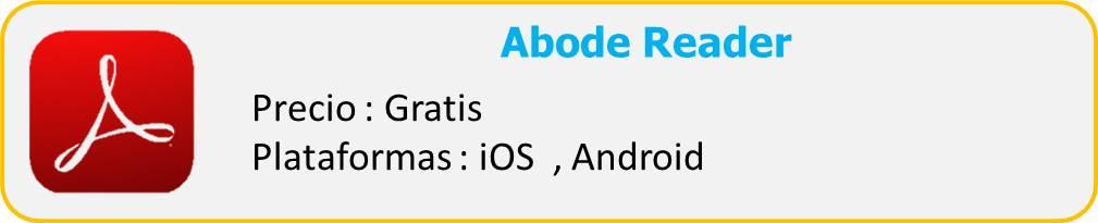 Adobe Reader app