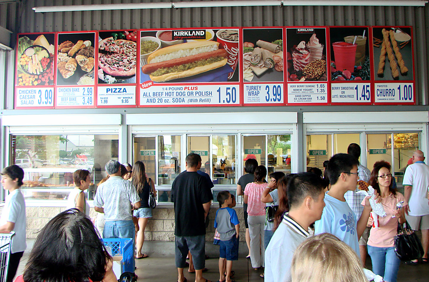 food court Costco