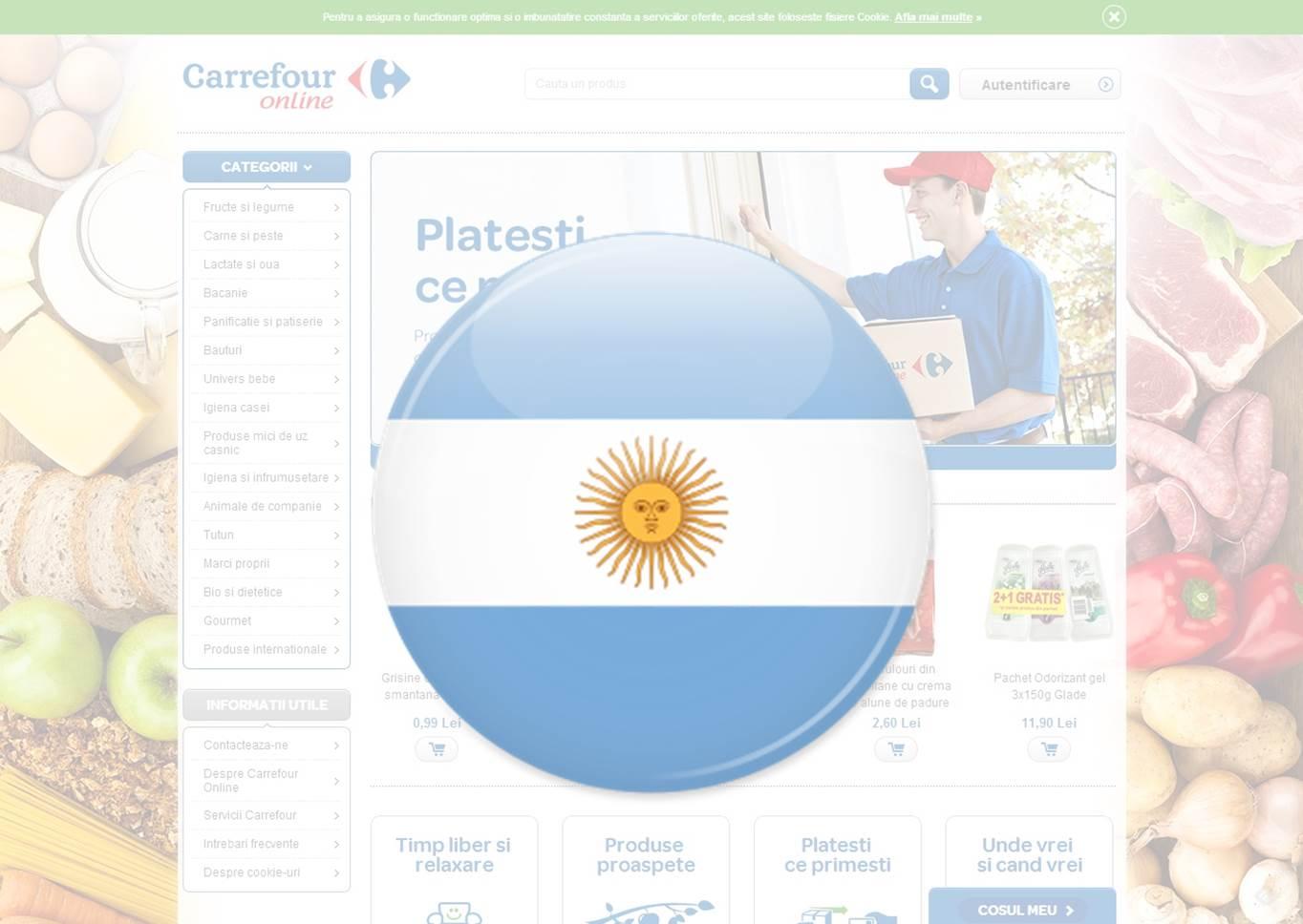Carrefour Argentina online