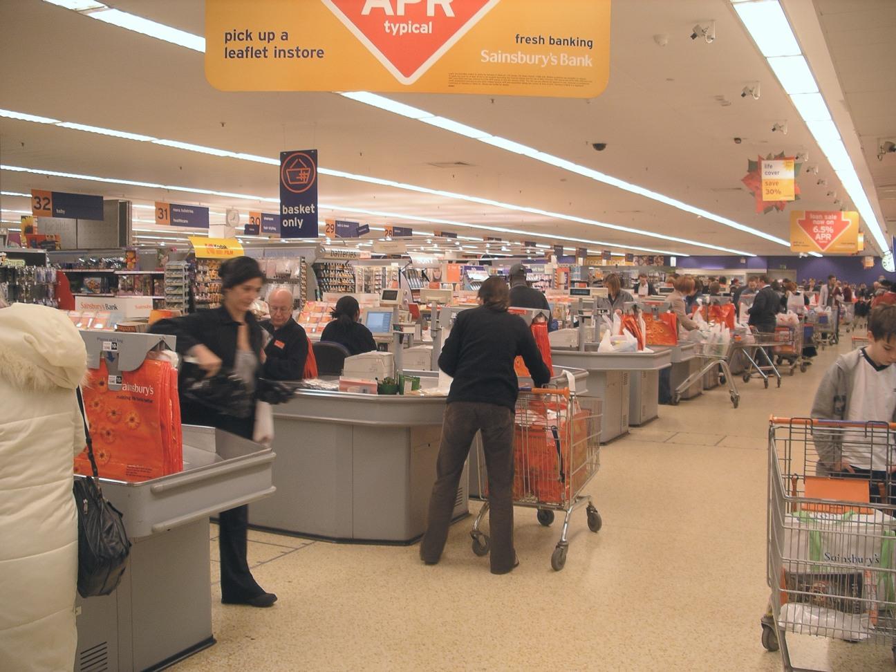 mesin kasir supermarket
